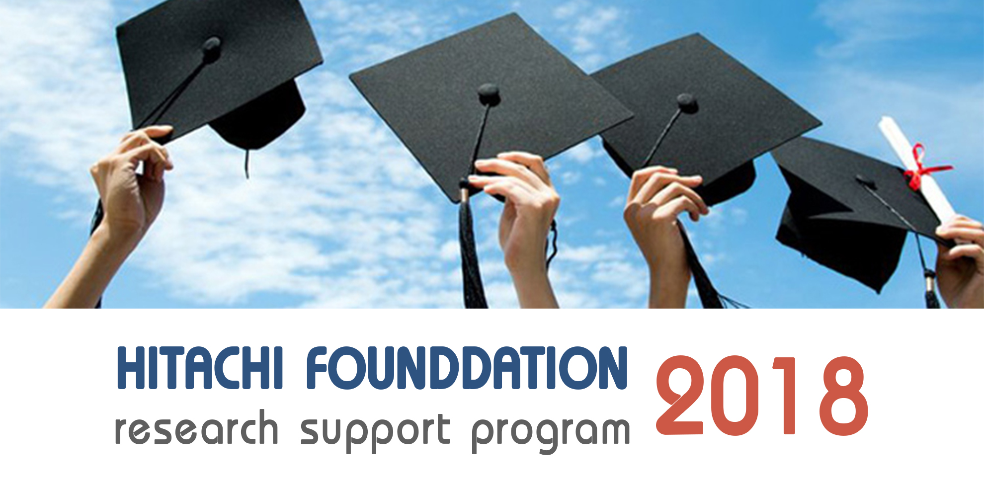 The Hitachi Global Foundation : Research Support Program for 2019